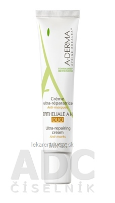 A-DERMA CREME EPITHELIALE A.H DUO ultra-obnovujúci krém 1x40 ml
