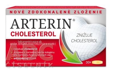 ARTERIN CHOLESTEROL tbl 1x30 ks