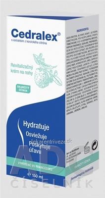 Cedralex revitalizačný krém na nohy 1x150 ml