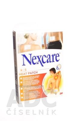 3M Nexcare HEAT PATCH, Náplasť hrejivá 9,5x13 cm, 1x5 ks