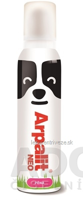 Arpalit NEO pena (4,8/1,2 mg/g) ektoparazitický prípravok pre zvieratá, 1x150 ml