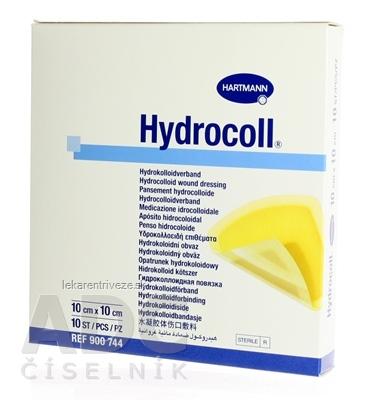 HYDROCOLL kompres hydrokoloidný (10cm x 10cm) 1x10 ks