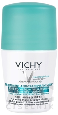 VICHY DEO ANTI-TRACES 48H Roll-on anti-transpirant (M5976801) 1x50 ml