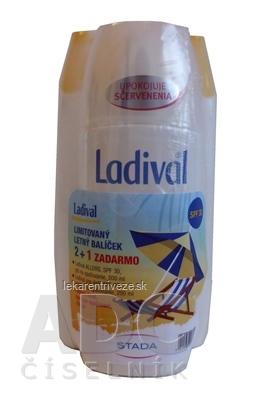 Ladival balík SPF 30 (ALLERG gél SPF 30 + PRE DETI telové mlieko SPF 30 + AKUT sprej po opaľovaní) 1x1 set