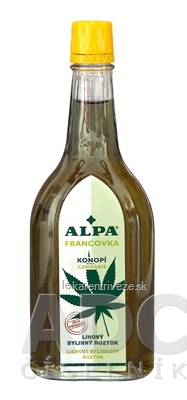 ALPA FRANCOVKA KONOPE/CANNABIS liehový bylinný roztok 1x160 ml