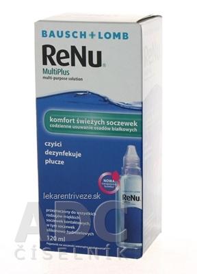 ReNu MultiPlus roztok na kontaktné šošovky (modrý) 1x120 ml