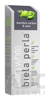 Biela perla Bamboo carbon & aloe zubná pasta 1x75 ml