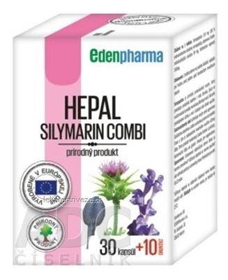 EDENPharma HEPAL cps 30+10 zadarmo (40 ks)