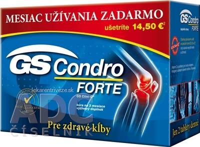 GS Condro FORTE 2013 tbl 120+60 zadarmo (180 ks)