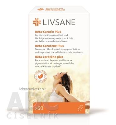 LIVSANE Betakarotén Plus cps 1x60 ks