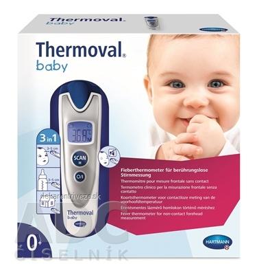 THERMOVAL baby digitálny teplomer (0+) 1x1 ks