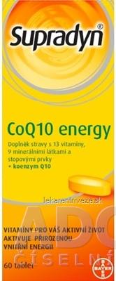 Supradyn CoQ10 Energy tbl 1x60 ks