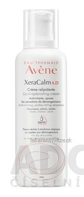 AVENE XERACALM A.D CRÈME RELIPIDANTE relipidačný krém, veľmi suchá koža (sterile cos.) 1x400 ml