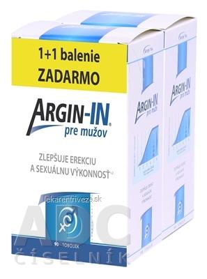 ARGIN-IN pre mužov cps 45 + 45 zadarmo (90 ks)