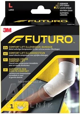 3M FUTURO Comfort bandáž na lakeť [SelP] veľkosť L, (76579) 1x1 ks