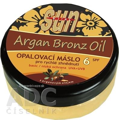 SUN ARGAN BRONZ OIL opaľovacie MASLO SPF 6 1x200 ml