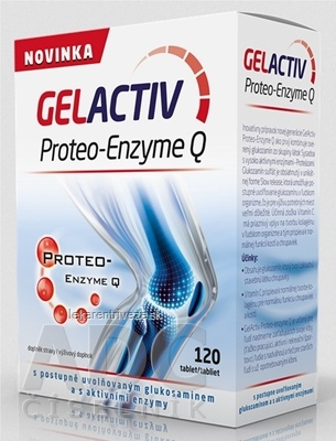 GELACTIV Proteo-Enzyme Q tbl 1x120 ks