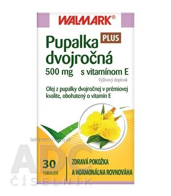 WALMARK Pupalka dvojročná 500 mg s vitamínom E cps 1x30 ks