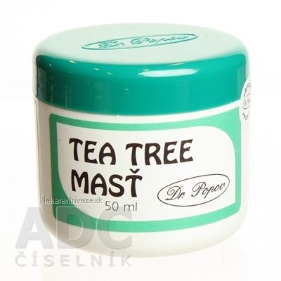 DR. POPOV MASŤ TEA TREE OIL 1x50 ml