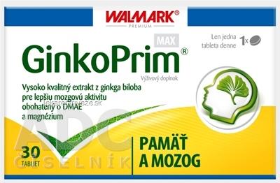 WALMARK GinkoPrim MAX tbl (verzia 2012) 1x30 ks