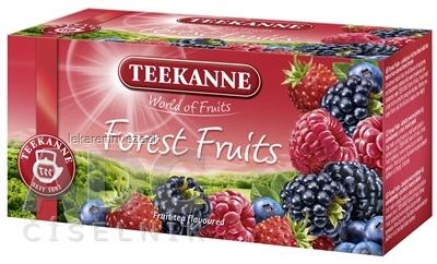 TEEKANNE WOF FOREST FRUITS ovocno-bylinný čaj 20x2,5 g (50 g)