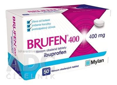 BRUFEN 400 tbl flm (blis.PVC/Al) 1x50 ks