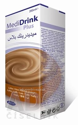 MediDrink Plus (verzia 2016) kávová príchuť 30x200 ml