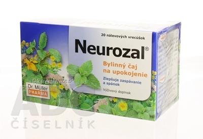 Dr. Müller NEUROZAL na upokojenie bylinný čaj 20x1,5 g (30 g)