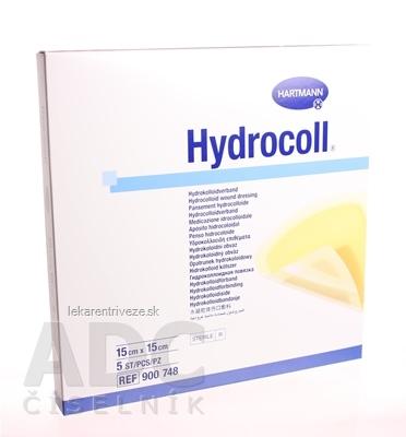 HYDROCOLL kompres hydrokoloidný (15cm x 15cm) 1x5 ks