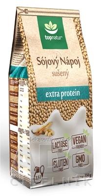 topnatur SÓJOVÝ NÁPOJ extra proteín sušený nápoj v prášku 1x350 g