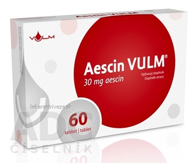 Aescin 30 mg, VULM tbl flm 1x60 ks