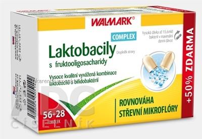 WALMARK Laktobacily Complex cps 56+28 ks zadarmo (84 ks)