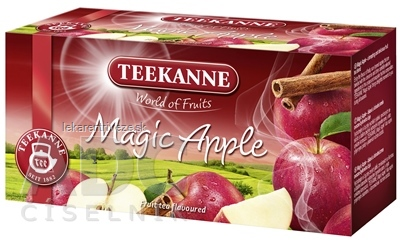 TEEKANNE WOF MAGIC APPLE ovocný čaj 20x2,25 g (45 g)