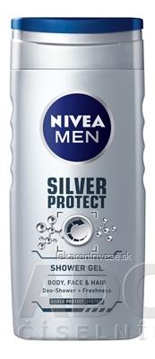 NIVEA MEN SPRCHOVÝ GÉL Silver protect 1x250 ml