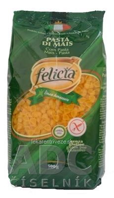 Kukuricne cestoviny Felicia Conchigliette bez lepku 1x500 g