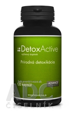 ADVANCE DetoxActive cps 1x120 ks