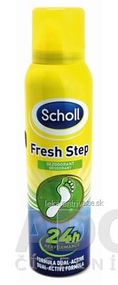 3a5813168d2e3 Scholl FRESH STEP Deodorant sprej na nohy (inov.2016) 1x150 ml