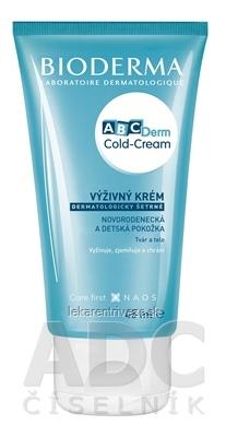 BIODERMA ABCDerm Cold Cream výživný ochranný pleťový krém 1x45 ml