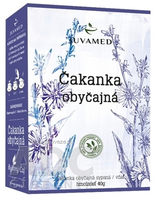 JUVAMED ČAKANKA OBYČAJNÁ - VŇAŤ bylinný čaj sypaný 1x40 g