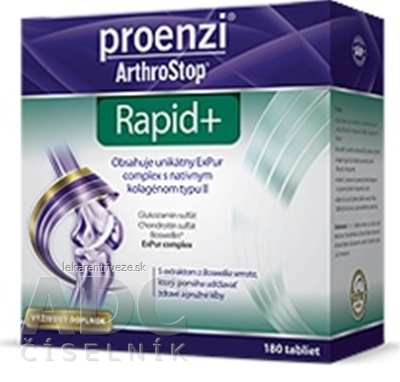 Proenzi ArthroStop Rapid+ tbl 1x180 ks