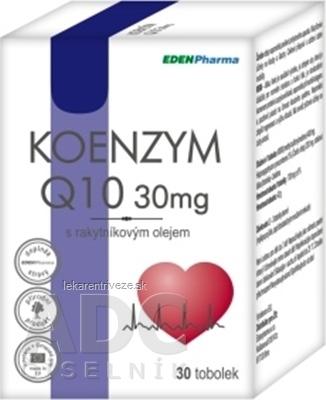 EDENPharma KOENZÝM Q10 30 mg cps (s rakytník. olejom) 1x30 ks