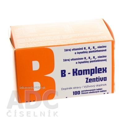 B-Komplex Zentiva tbl flm 1x100 ks