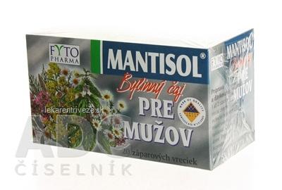 FYTO MANTISOL Bylinný čaj PRE MUŽOV 20x1 g (20 g)