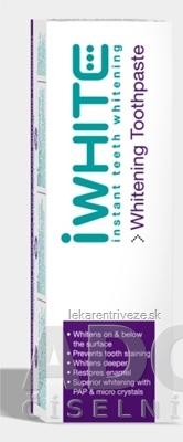 iWHITE Bieliaca zubná pasta 1x75 ml
