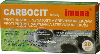 CARBOCIT tbl 320 mg (blister PVC/Al) 1x20 ks