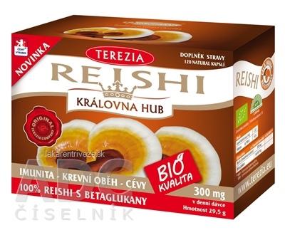 TEREZIA REISHI BIO KVALITA cps 1x120 ks