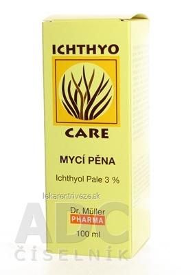 Dr. Müller IchthyoCare UMÝVACIA PENA 3% ICHT. 1x100 ml