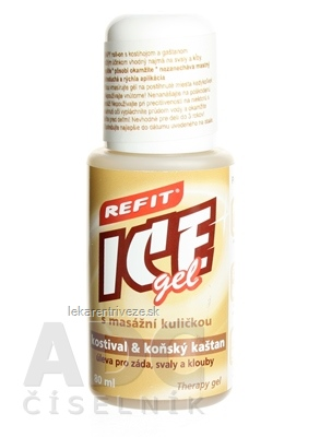 REFIT ICE GEL KOSTIHOJ A GAŠTAN ROLL ON 1x80 ml