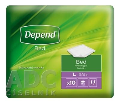 DEPEND Bed LARGE 60x90 cm absorbčné podložky 1x10 ks