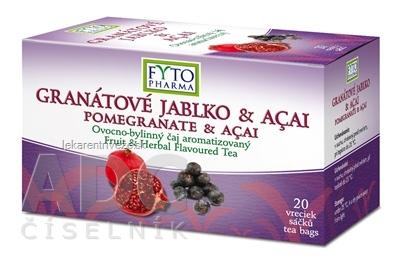 FYTO GRANÁTOVÉ JABLKO & ACAI ovocno-bylinný čaj 20x2 g (40 g)